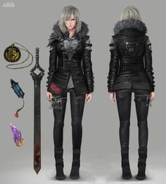 character design [ EDITH ], Mawa Setiawan on ArtStation at https://www.artstation.com/artwork/XDkan