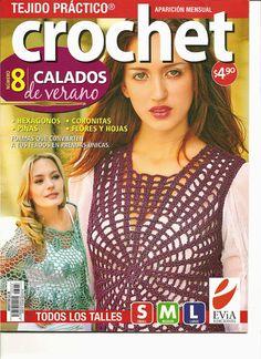 Mis Revistas Del Crochet : Revista de Crochet Calados De Verano