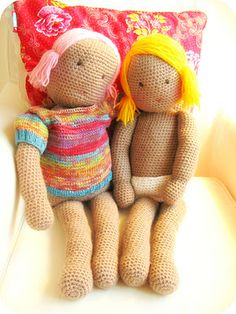 My first Doll - free crochet pattern