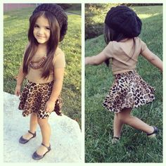 I want Ollie to dress like this when she is older.... so cute...