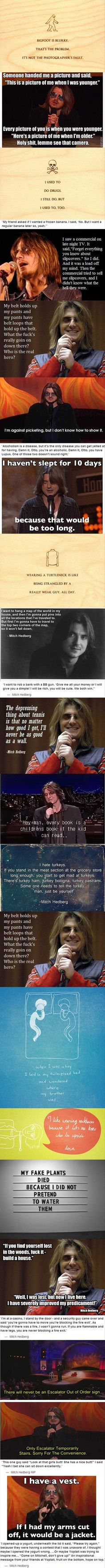 Funny Mitch Hedberg Quotes – 21 Pics