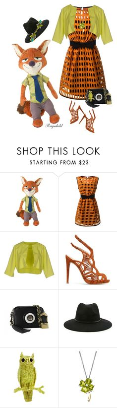 """Colors for Zootropolis"" by ragnh-mjos ❤ liked on Polyvore featuring Moschino, Alexandre Birman, Forever 21, Tiffany & Co., Lord & Taylor, outfit and fashionset"