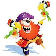Poema Infantil: Para ser un buen pirata - Cuentos y demás para peques Teacher Hacks, Peter Pan, Tweety, Pikachu, Fictional Characters, Dani, Cold Porcelain, Biscuit, Ships
