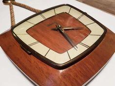 zegar hermle, lata 60 70, mid century, modern design, retro, prl Płock - image 1