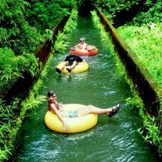 Tubing in Hawaii!