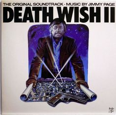 DEATH WISH / JIMMY PAGE / SOUNDTRACK / SWAN SONG / WARNER PIONEER JAPAN