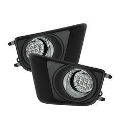 Spyder Auto   Toyota Tacoma 2012-2015 LED Fog Lights w/Switch - Clear