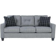 Brindon Charcoal Sofa PP-539S Living room