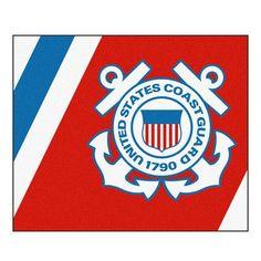 FANMATS MIL U.S. Coast Guard Ulti-mat Rug Size: