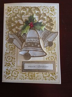 Card made using Anna Griffin supplies. D Marshall                                                                                                                                                      More