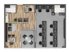 Office Layout Plan, Office Space Planning, Office Floor Plan, Small Office Design, Small Space Office, Corporate Office Design, Interior Work, Office Interior Design, Office Interiors