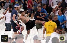 Hooligans did bad things last night at England - Russia match which was a tie #elmens #euro216 #3lions #england #football #france #polska #unbesoj #евро2016 #autochthonous #france2016 #francja #ireland #jeminje #kuqezijeti #laczynaspilka #poland #russia #stadium #tifozatkuqezi #россия #сборнаяроссии #футбол #0 #сборнаяроссиипофутболуевро2016 #слуцкий #фанаты #футбольнаукраїна #чемпионатроссии #чешскоепиво