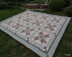 DEKA MOTÝLÍ MODRÁ Picnic Blanket, Outdoor Blanket, Scrappy Quilts, Picnic Quilt