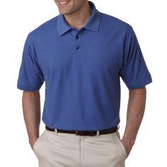 Whisper Men's Pique French Polo T-shirt