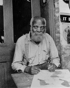 Artists' Profiles - American painter Bill Traylor (1854 - 1949)