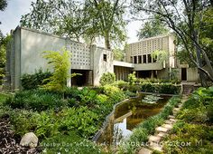 MillardHouse.com - it can be yours - a Frank Lloyd Wright in Pasadena!