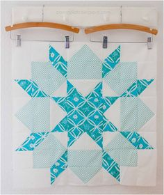 This would make a nice snowflake quilt