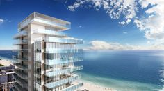 GLASS residential tower by rene gonzalez and terra group