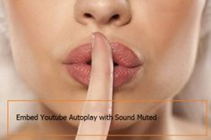 How To Embed Youtube Video Sound Mute 2016 http://akshyaa.com/embed-youtube-video-sound-mute/