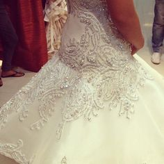 Intricate Beading/ Gown by Francis Libiran