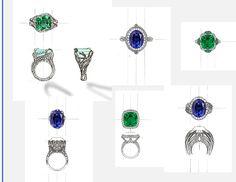designs of fine jewelry