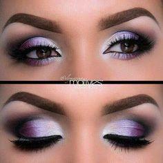 Dramatic eyes! Love it!