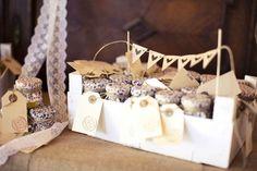 Detalles para invitados de una boda en el campo con aires vintages. Foto de Arberas Ruso de Bodas Deluxe   Foto 18