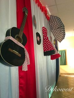 Music Instruments, Guitar, Retro, Wedding, Valentines Day Weddings, Musical Instruments, Weddings, Retro Illustration, Marriage