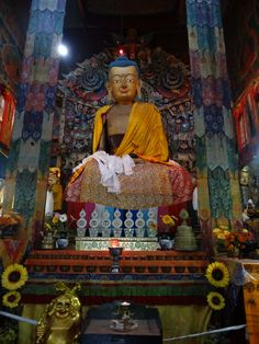 Samten Choling Buddhist Ghoom Monastery Darjeeling India