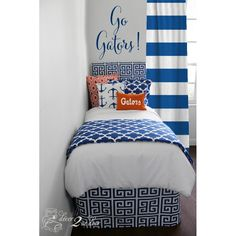 Nice University Of Florida Gators Designer Teen Girl U0026 Dorm Room Bedding Set