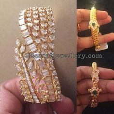 Antique Gold Kada and Broad Diamond Bangle Bracelet Jade, Bracelet Cartier, 9ct Gold Bracelet, Diamond Bracelets, Gold Bangles, Diamond Jewelry, Bangle Bracelets, Gold Jewelry, Wedding Jewelry