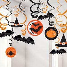 Hats and Bats Hanging Swirls - 60cm