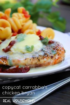 Copycat Carrabbas Chicken Bryan is the best chicken recipe you will ever encounter. Mouthwatering ingredients, to die for sauce and goat cheese. Need I say more?