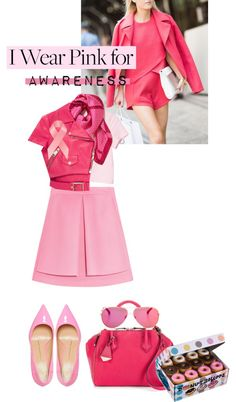 """""""I wear pink for...AWARENESS"""" by alaria on Polyvore"""