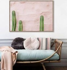 This is 'Pink Cactus' a beautiful framed canvas by artist Jeremiah Locke supplied by White Moose Design. It makes us want to decorate everything in pink and green! If you want to snap one up hurry only very limited stock left! http://ift.tt/2kIu5pr #art #wallart #cactus #pinkandgreen