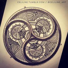mandala - Pattern / Art Design / Zentangle
