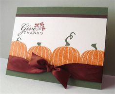 Pumpkin Harvest by brierrose - Cards and Paper Crafts at Splitcoaststampers