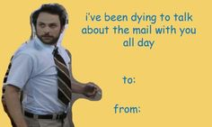 Show your loved one how much you really care by sending them one or all of these amazing It's Always Sunny In Philadelphia Valentine's Day cards!