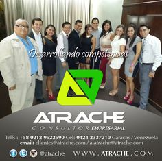 #adiestramiento @AtracheCom #cursos  ATRACHE Consultor Empresarial Soluciones en adiestramiento corporativo con acreditación universitaria:  Cursos, talleres y diplomados, en modalidades abierta e in-company * Caracas, Venezuela * + 58 (212)9522590 / (424) 233.7210 * http://www.atrache.com  * Twitter: @AtracheCom  #talleres #diplomados