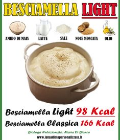 Bechamel, Healthy Sauces, Healthy Recipes, Stevia, Cooking Time, Cooking Recipes, 21 Day Fix Diet, 1200 Calories, Big Meals