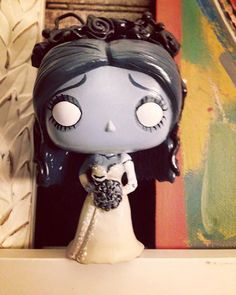 Custom Emily Corpse Bride Funko Pop by HouseOfMouseDesigns on Etsy