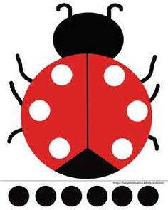Ladybug Cut and Paste Activity + Printable - Fun with Mama - Kids and Toddler Activities