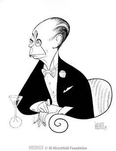 Al Hirschfeld ~ Cole Porter