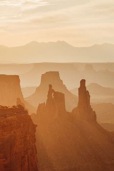 Mystical and Magical Sunrise in Canyonlands National Park, Utah