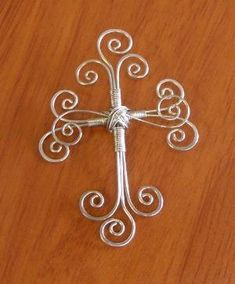 Wire cross. by olga