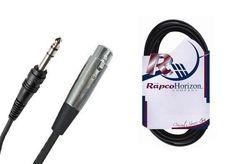 "Rapco BLC-15MS 15' Balanced Lo-Z Audio Cable | XLR to Balanced 1/4"""