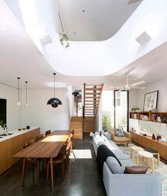 Unfurled House à Sydney en Australie par Christopher Polly Architect - Journal du Design