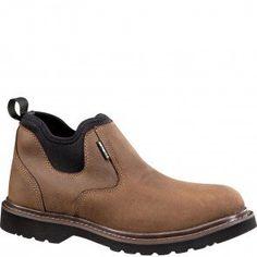 CMS4190 Carhartt Men's WP Romeo Work Shoes - Dark Bison www.bootbay.com