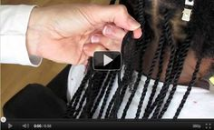 Yarn Extensions How-To Video | Chocolate Hair / Vanilla Care