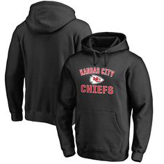 Kansas City Chiefs Pro Line Big & Tall Victory Arch Pullover Hoodie - Black - $64.99